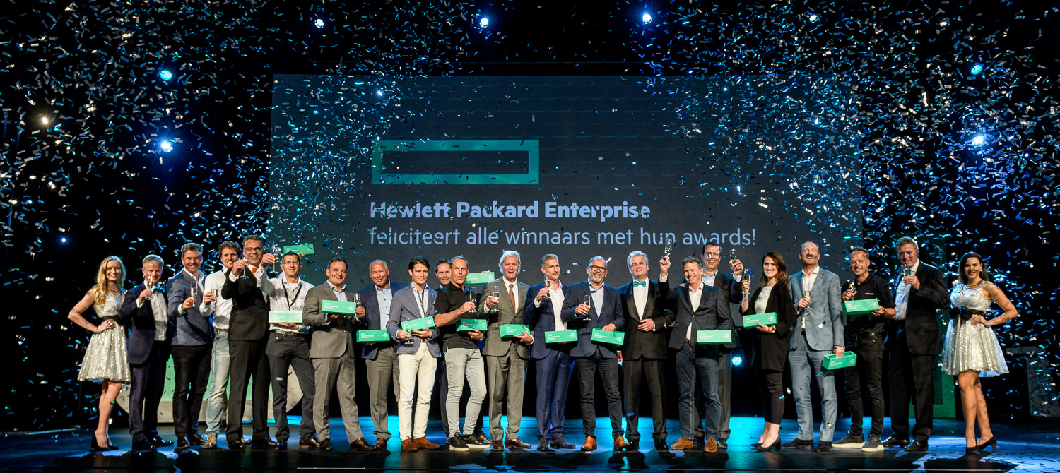 Hewlett Packard Enterprise reikt Partner Awards uit tijdens Reimagine
