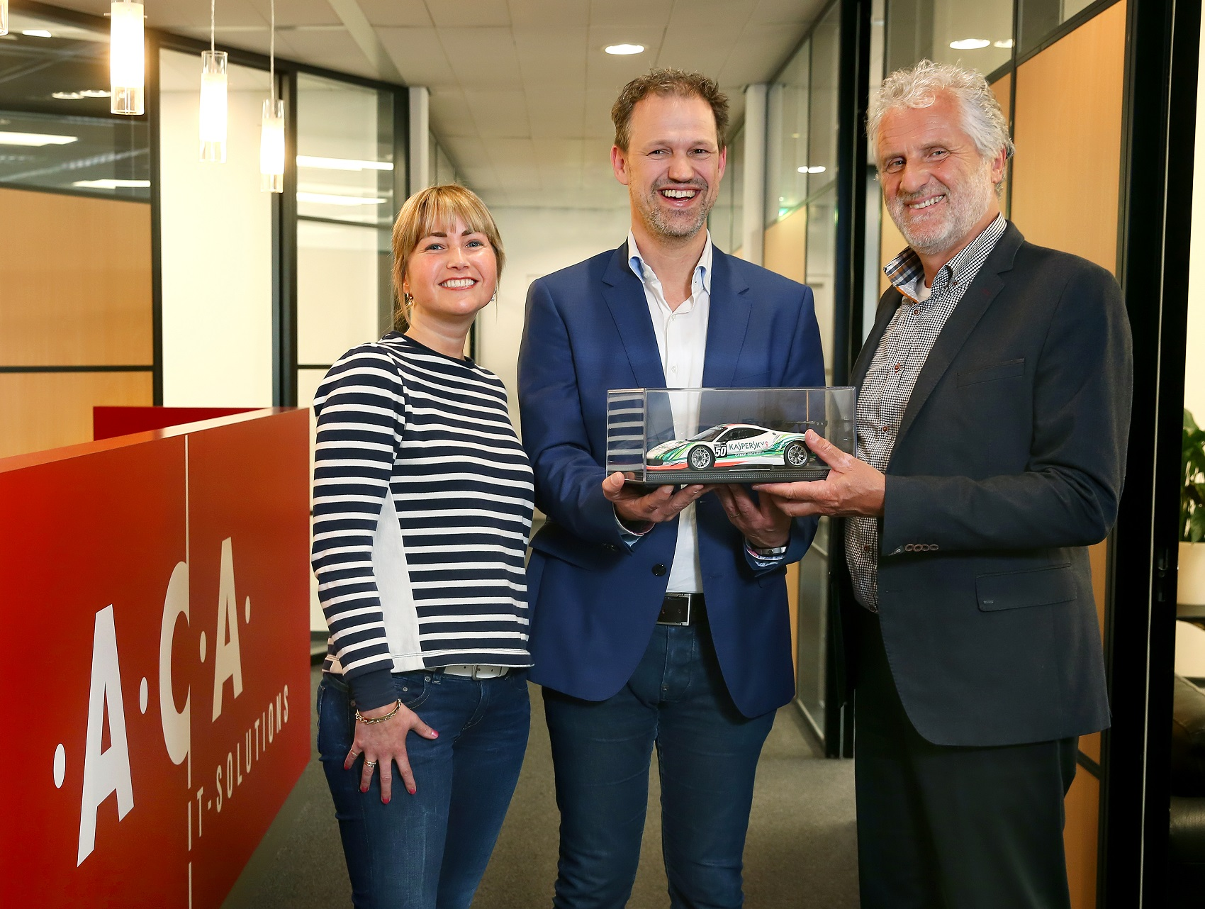 Kaspersky Platinum Partner Status voor ACA IT-Solutions