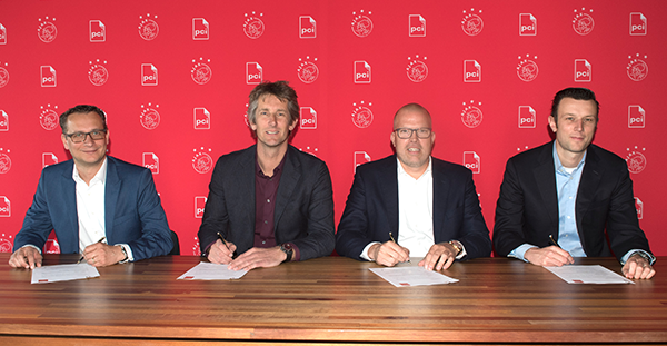 PCI Nederland Official Supplier van Ajax